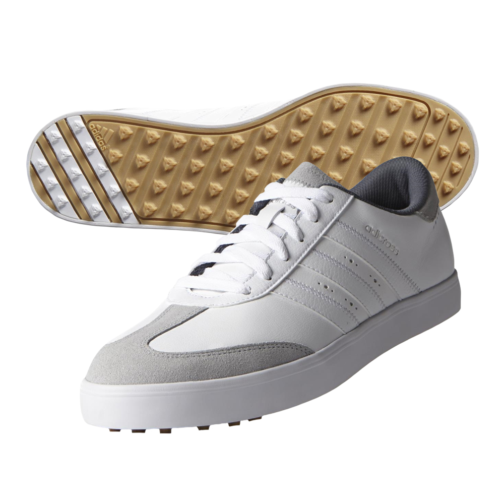 New Adidas Adicross V Golf Shoes Leather & Suede Upper ...