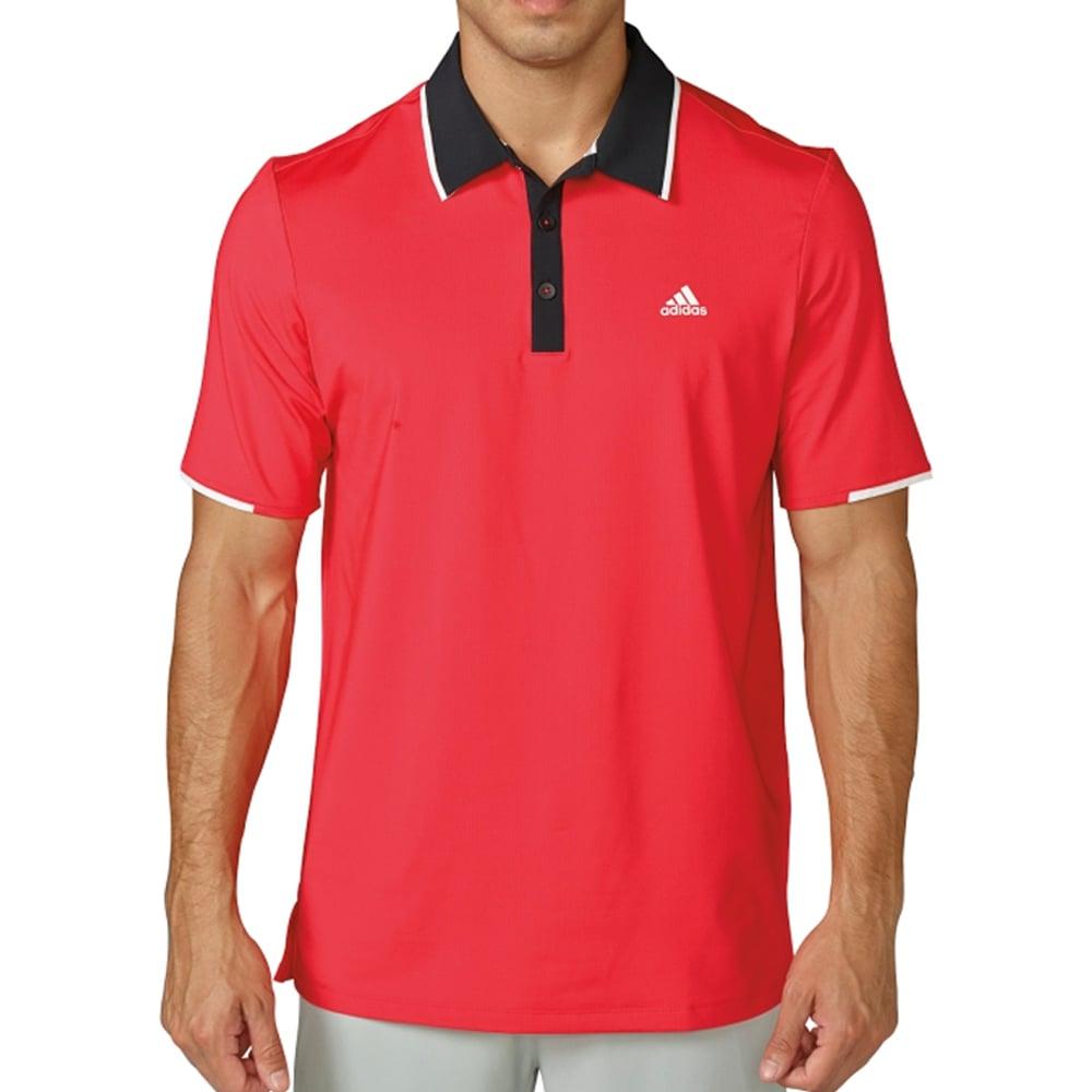 New adidas climacool branded performance golf polo jason for Polo golf performance shirt