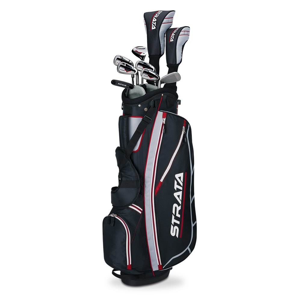New 2015 Callaway Golf Strata 12-Piece Men's Complete Set ... Callaway Golf Club Set