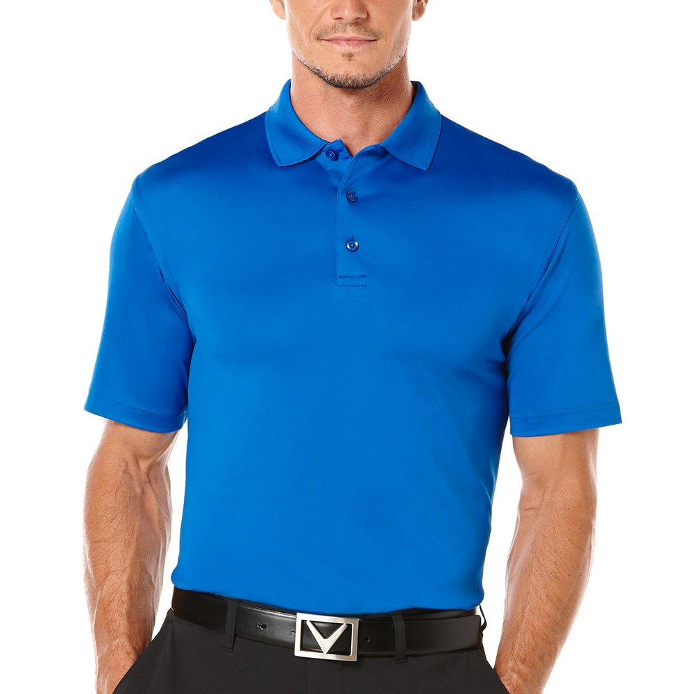 New-Callaway-Golf-Men-039-s-Performance-Solid-Polo-MOISTURE-WICKING-Pick-Shirt thumbnail 5