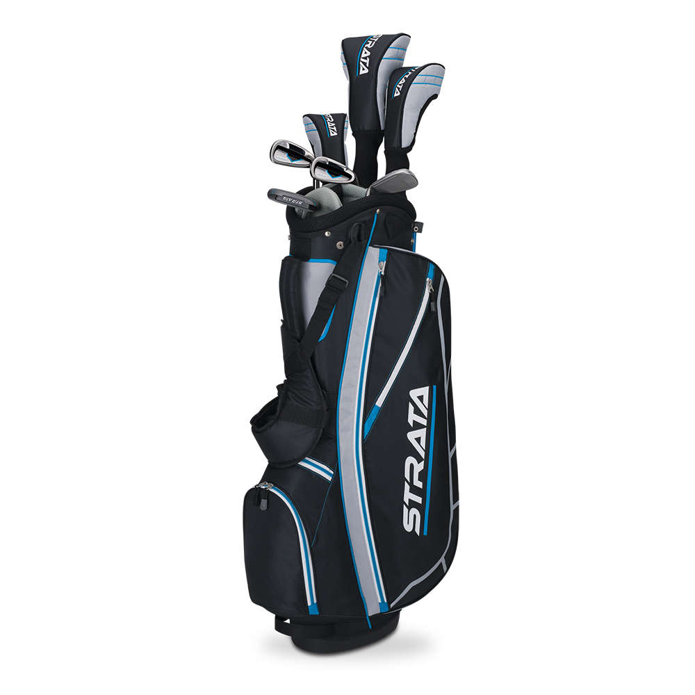 new 2015 callaway golf strata 11 piece women 39 s complete set bag included ebay. Black Bedroom Furniture Sets. Home Design Ideas
