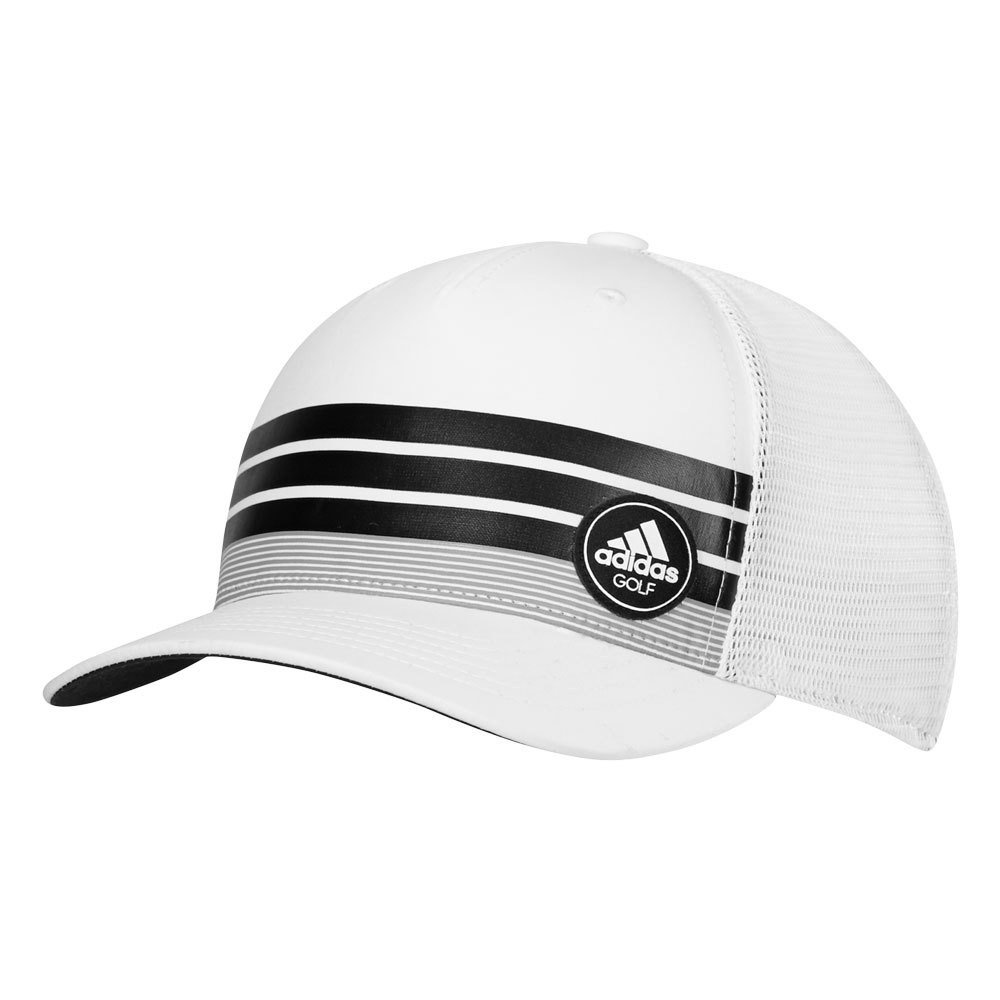 accb4787fe3 Adidas 3-Stripes Trucker Adjustable Cap - Men s Golf Hats   Headwear ...