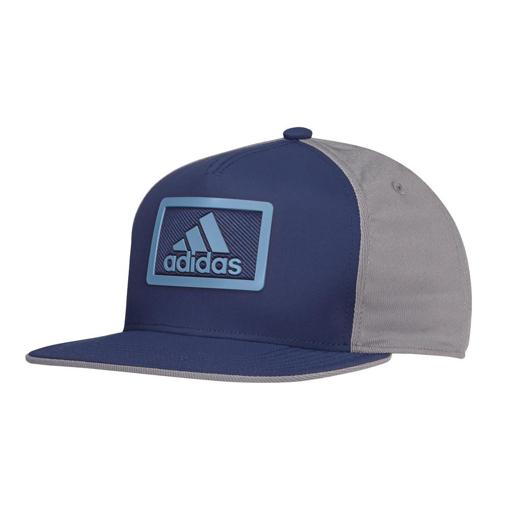 Adidas Block Flat Bill Adjustable Hat - Men s Golf Hats   Headwear ... e534d2f6a26a