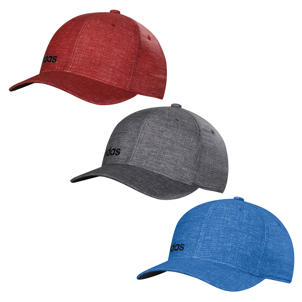 429f12b3 Adidas ClimaCool Chino Print Fitted Hat - Men's Golf Hats & Headwear ...