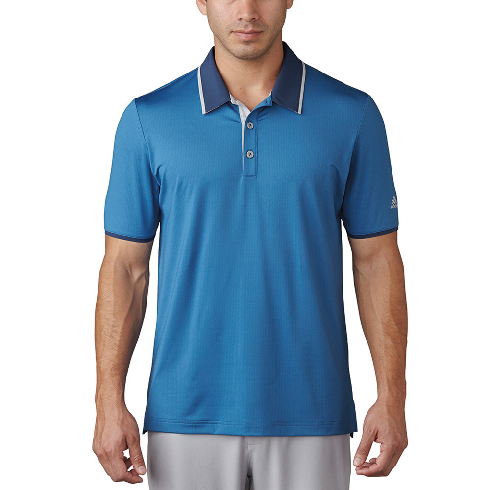 newest b8a2f d49ea 2017 Adidas Climacool Performance Polo - Discount Men s Golf Polos and  Shirts - Hurricane Golf