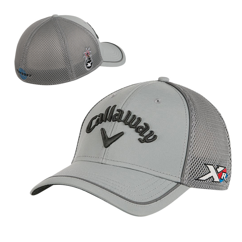 Callaway XR Tour Authentic Mesh Fitted Cap - Men s Golf Hats ... abc9ed636f9