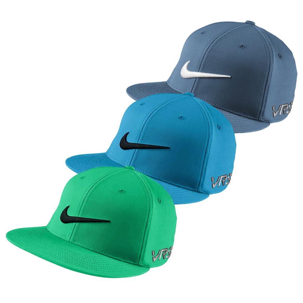 Nike Dri Fit Flat Bill Tour Fitted Golf Hats
