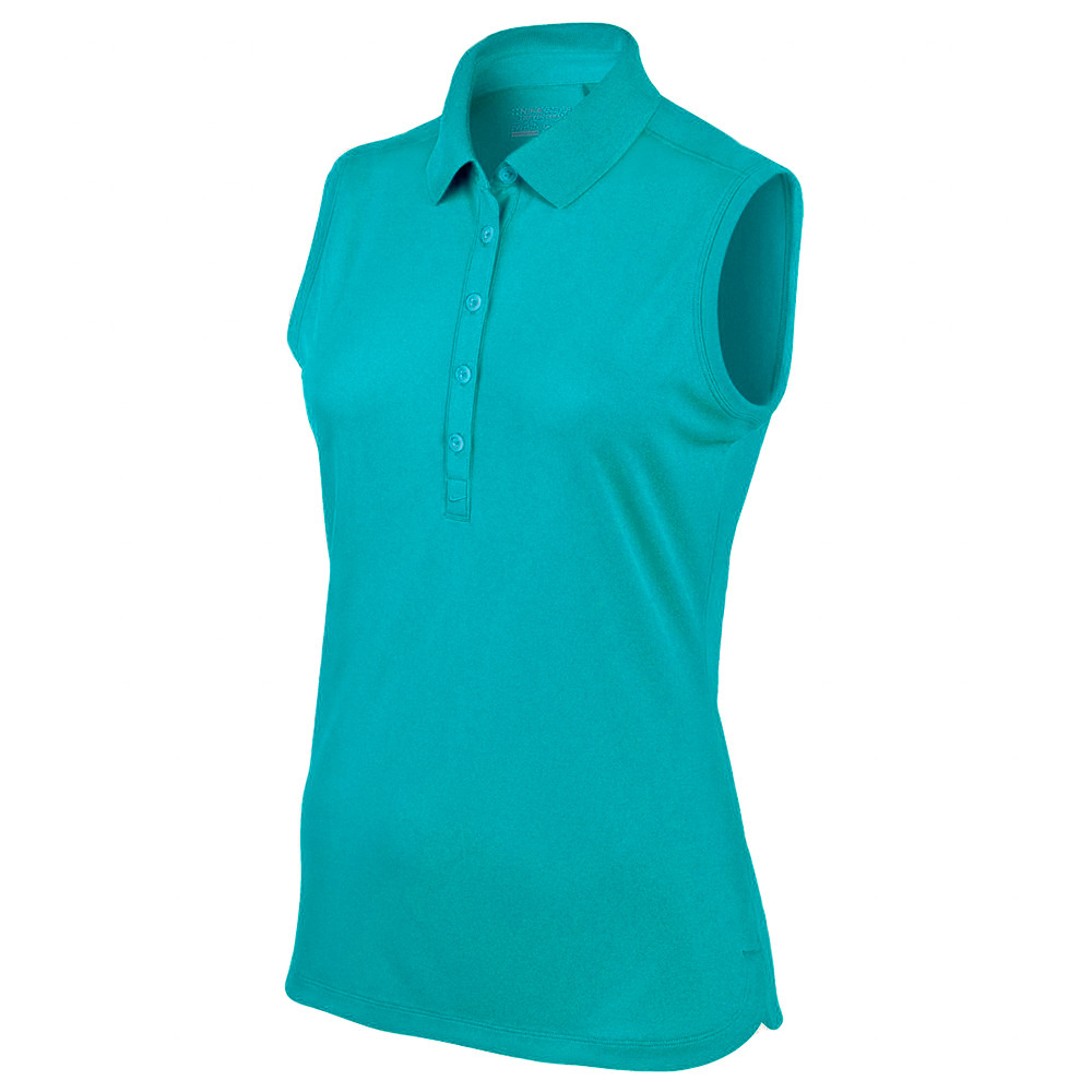 Nike jersey women 39 s sleeveless golf polo discount women for Nike polo shirts wholesale