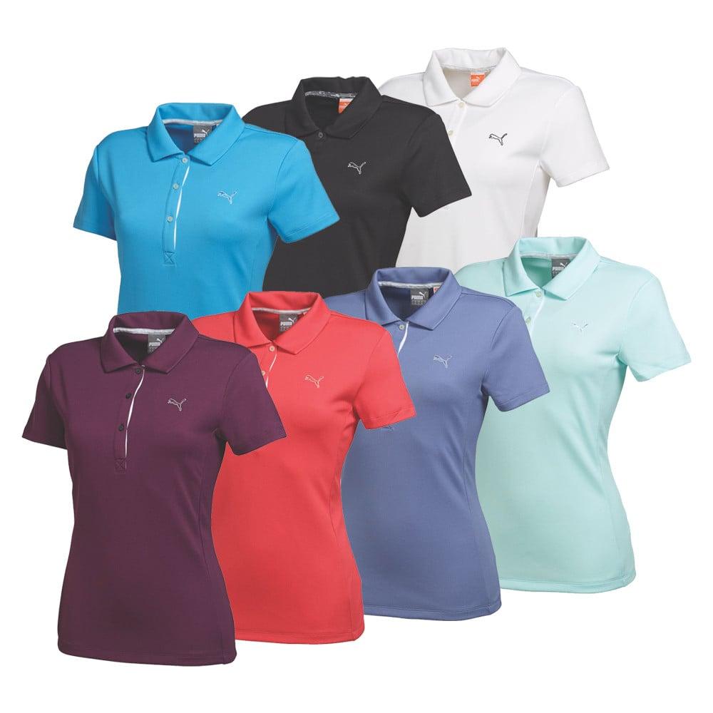 women's puma tech polo golf shirt  discount women's golf