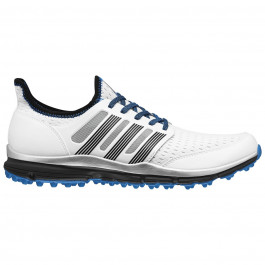 Adidas Climacool Golf Shoes Running White/Core Black/Bright Blue 10.5 M