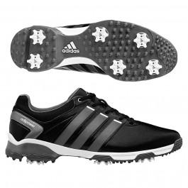 Adidas Adipower TR Golf Shoes Core Black/Iron Metallic/Running White 9 M