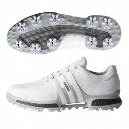 Adidas Tour 360 Boost 2.0 Golf Shoes Cloud White/Cloud White/Boost Trace Grey 10 M