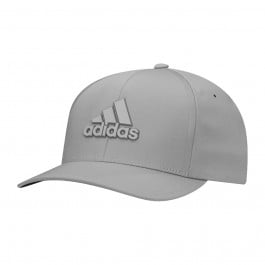 finest selection best place new cheap Adidas Tour Delta Textured Fitted Hat Mid Grey/Black S/M