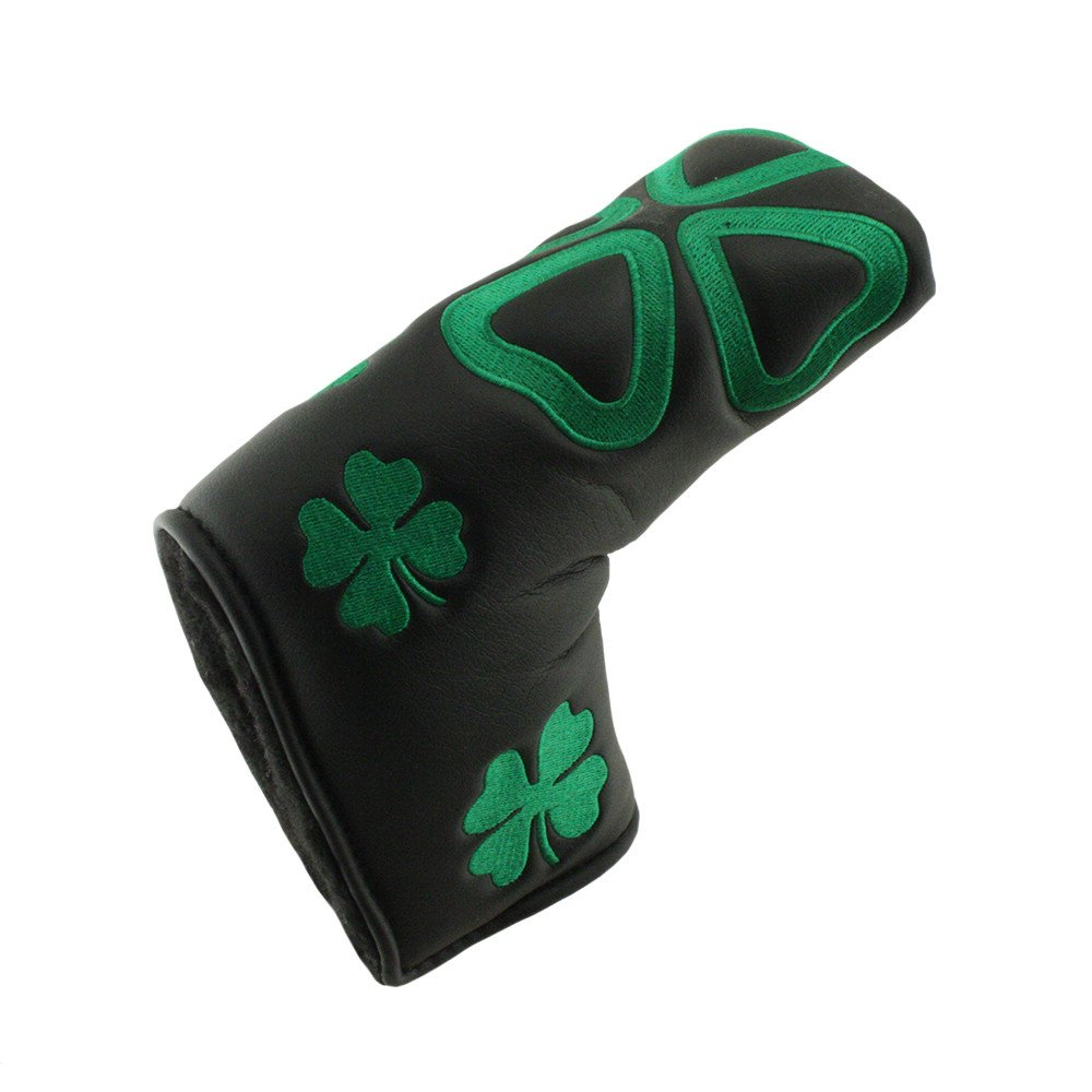 Hurricane Golf Irish/Black Blade Putter Headcover - Hurricane Golf