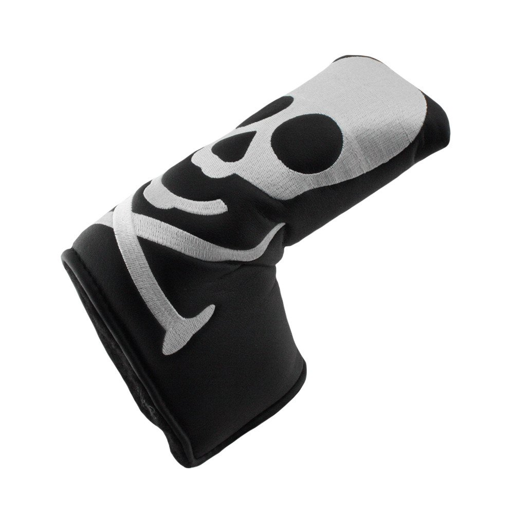 Hurricane Golf Skull/Black Blade Putter Headcover - Hurricane Golf