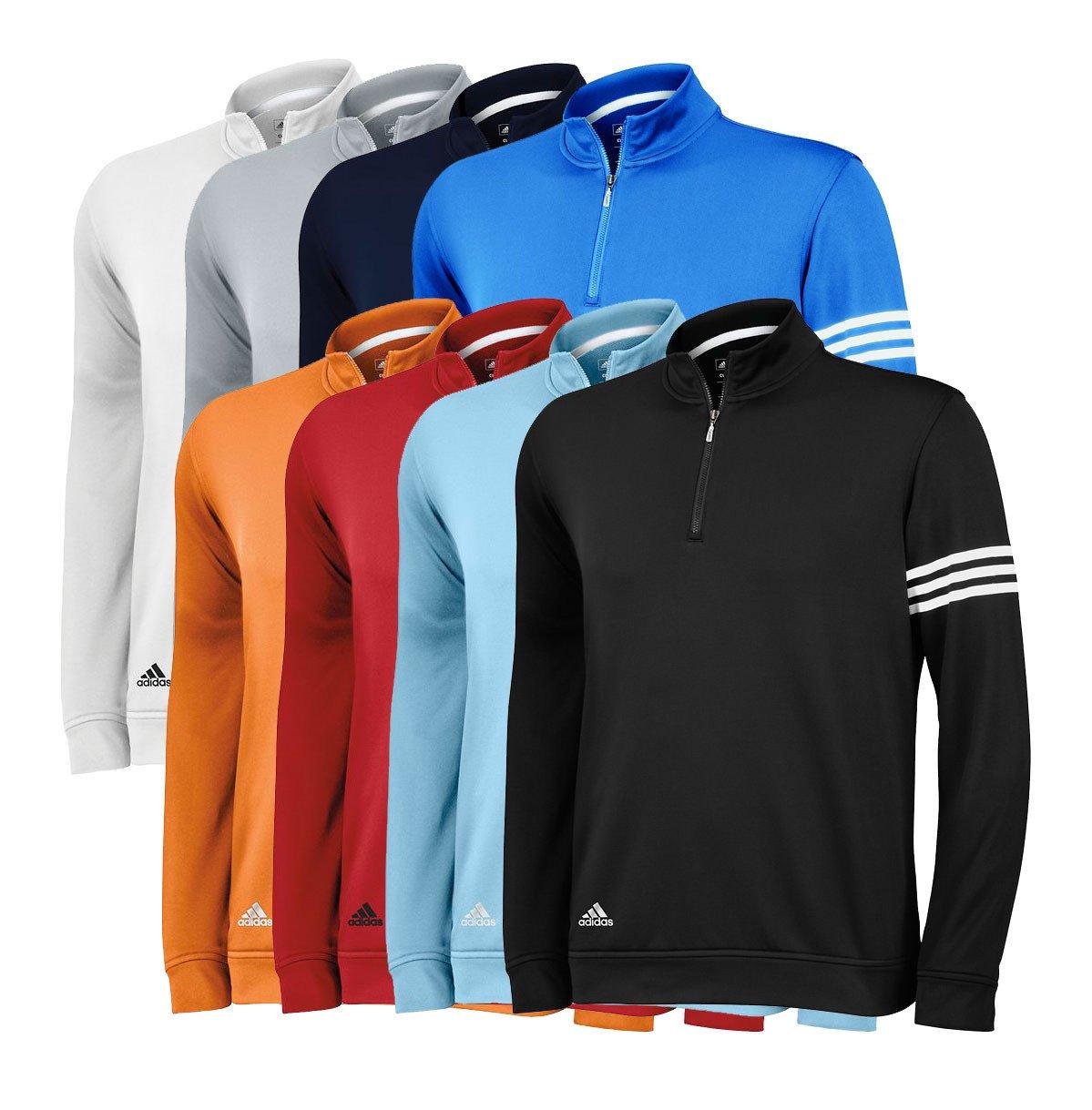 Adidas ClimaLite 3-Stripes Pullover 2013 - Adidas Golf