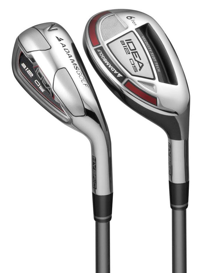 Adams Idea a12 OS Hybrid Iron Set - Adams Golf