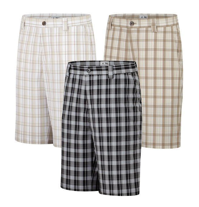 Adidas Climalite Bold Plaid Shorts