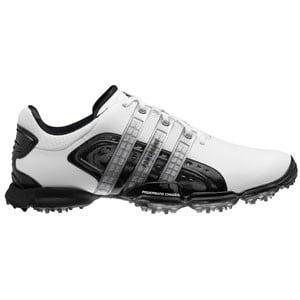 Adidas Powerband 4.0 White/Black Golf Shoes