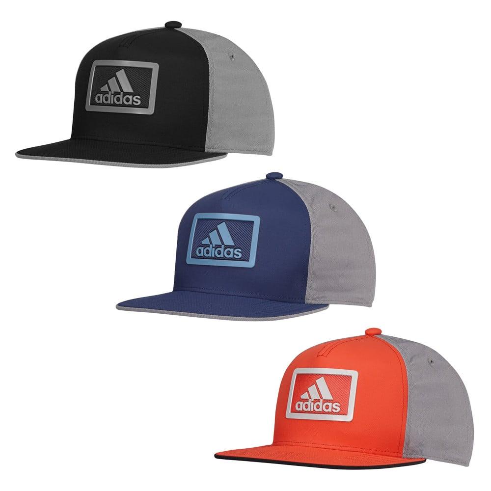 Adidas Block Flat Bill Adjustable Hat - Men s Golf Hats   Headwear - Hurricane  Golf f0ce1b10272c