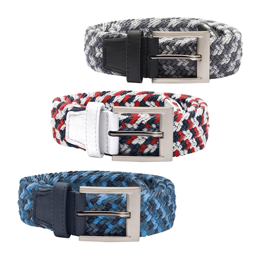 Adidas Braided Weave Stretch Belt - Adidas Golf
