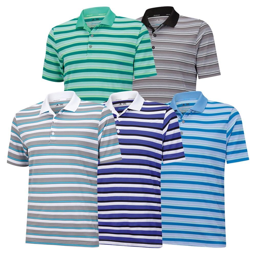 Adidas ClimaCool Sport Classic Stripe Polo - Adidas Golf