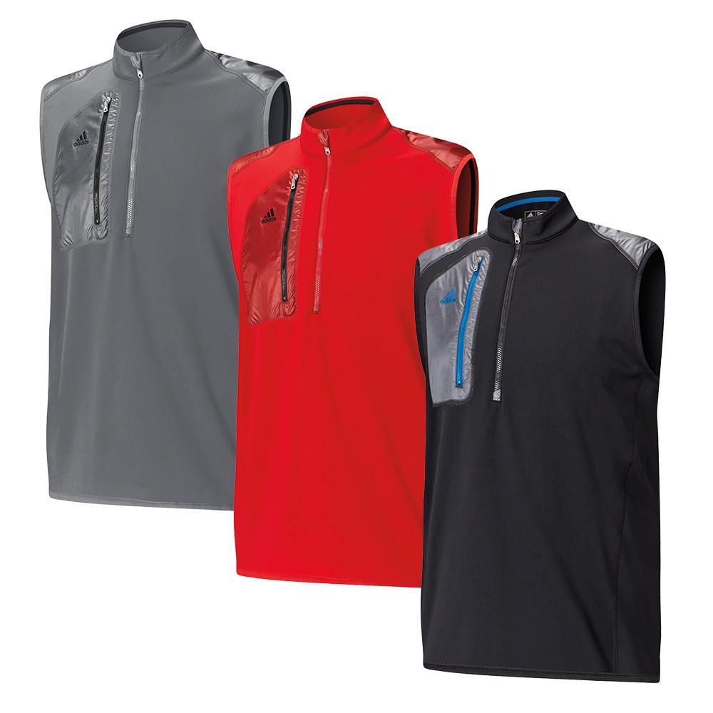 Adidas ClimaHeat 1/2 Zip Vest - Adidas Golf