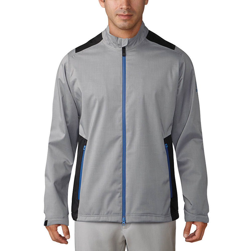 Adidas Climaproof Heathered Rain Jacket Grey/Black/Night Grey S