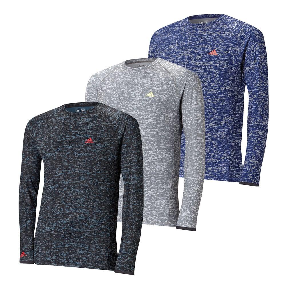 Adidas ClimaWarm Long Sleeve Camo Print Baselayer - Adidas Golf
