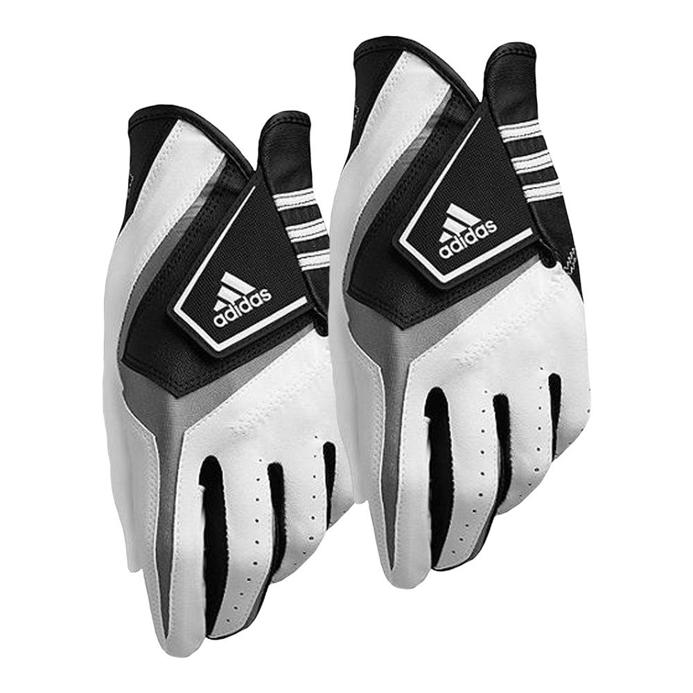 Adidas Exert Golf Glove 2 Pack White/Black - Adidas Golf