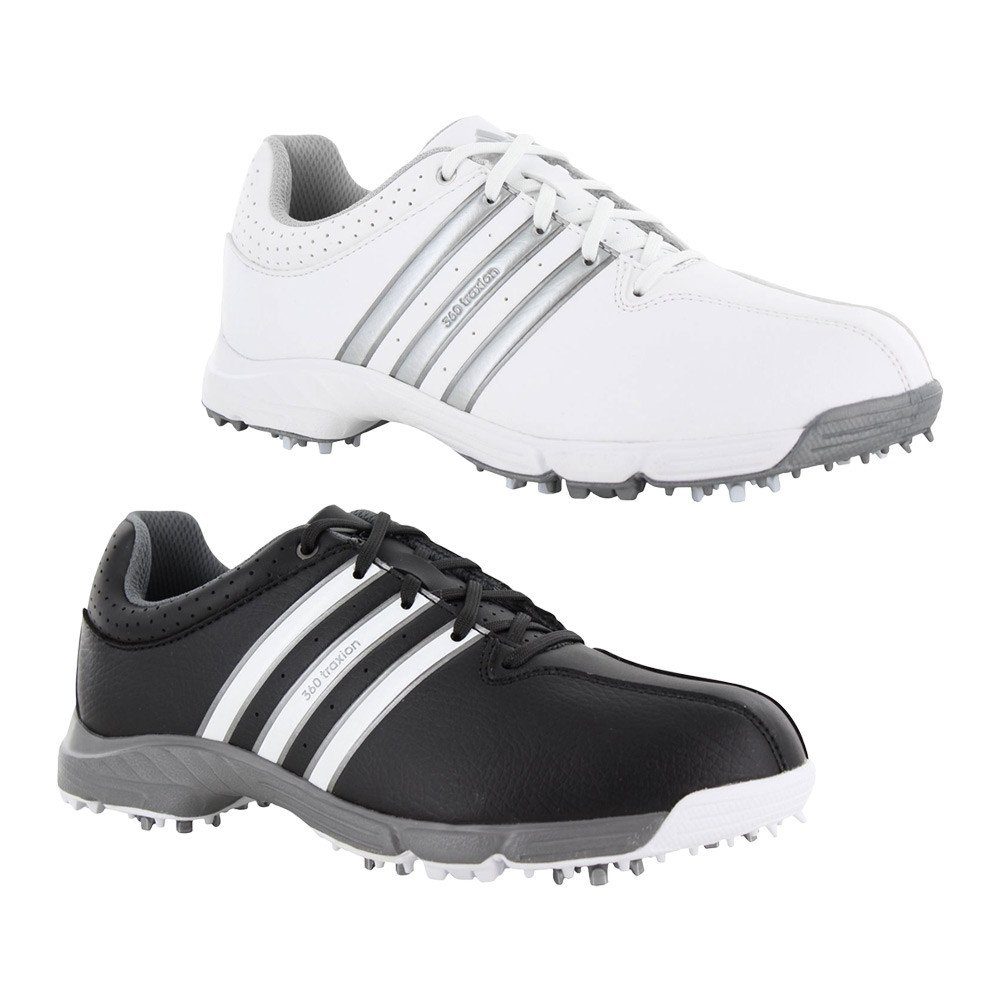 c7ac7af0e Adidas Junior 360 Traxion Golf Shoes - Discount Golf Shoes - Hurricane Golf