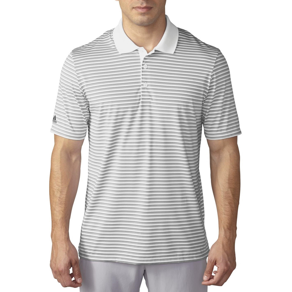 Adidas Performance 3-Color Stripe Polo - Discount Men's Golf Polos and  Shirts - Hurricane Golf