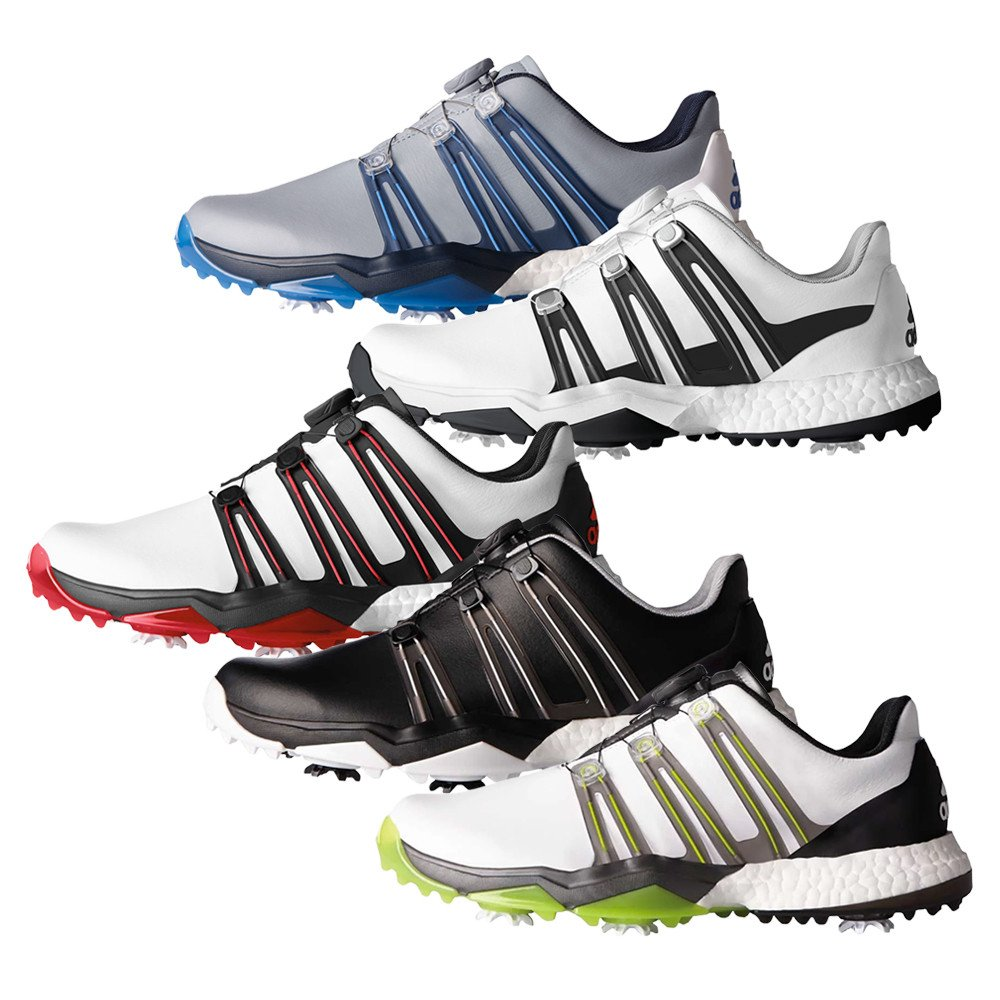 Adidas Powerband BOA Boost Golf Shoes - Adidas Golf