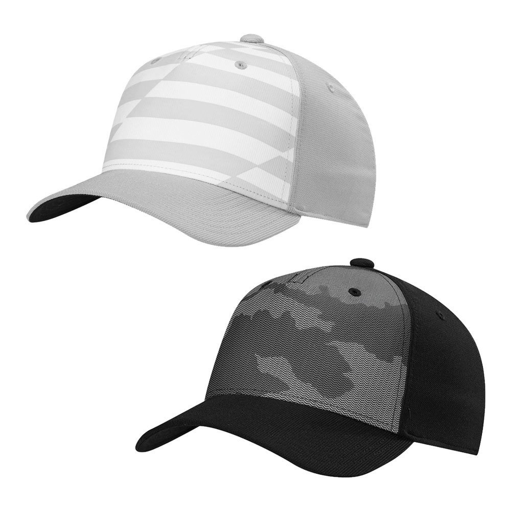 Adidas Printed Colorblock Fitted Hat - Men s Golf Hats   Headwear -  Hurricane Golf 02e0e101eb9