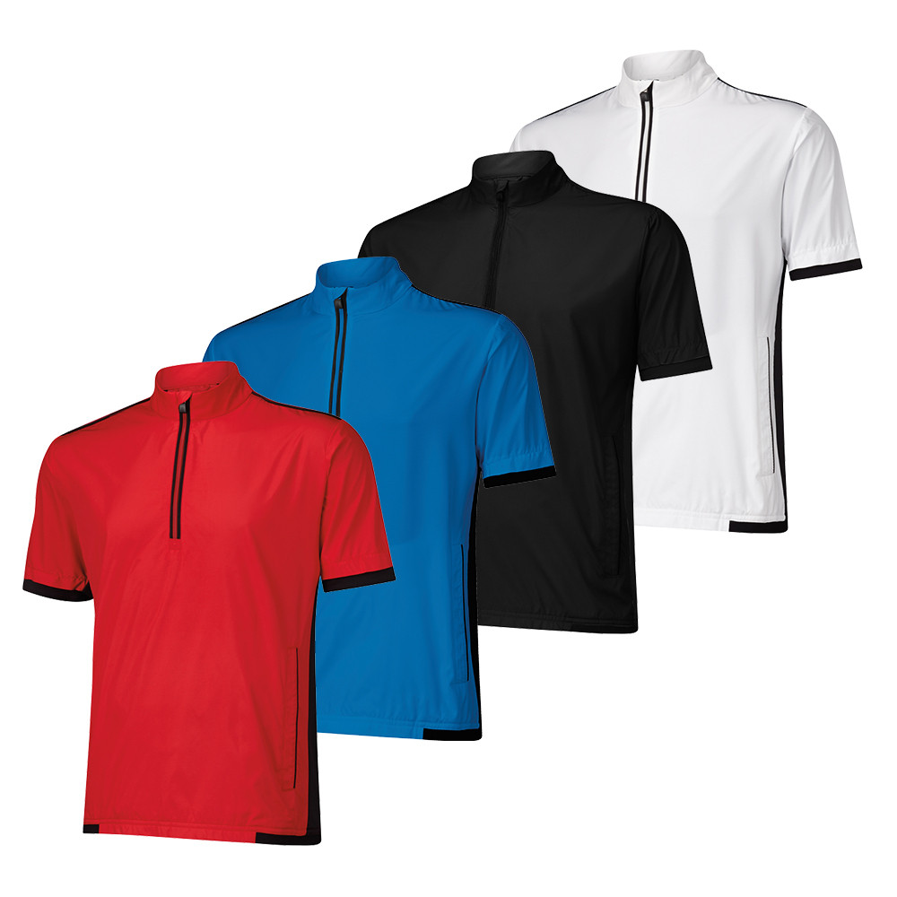 Adidas Stretch ClimaProof Short Sleeve Jacket - Adidas Golf