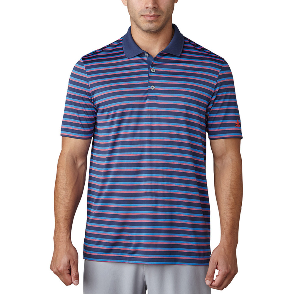 Adidas Club Merch Stripe Polo - Discount Men's Golf Polos and Shirts -  Hurricane Golf