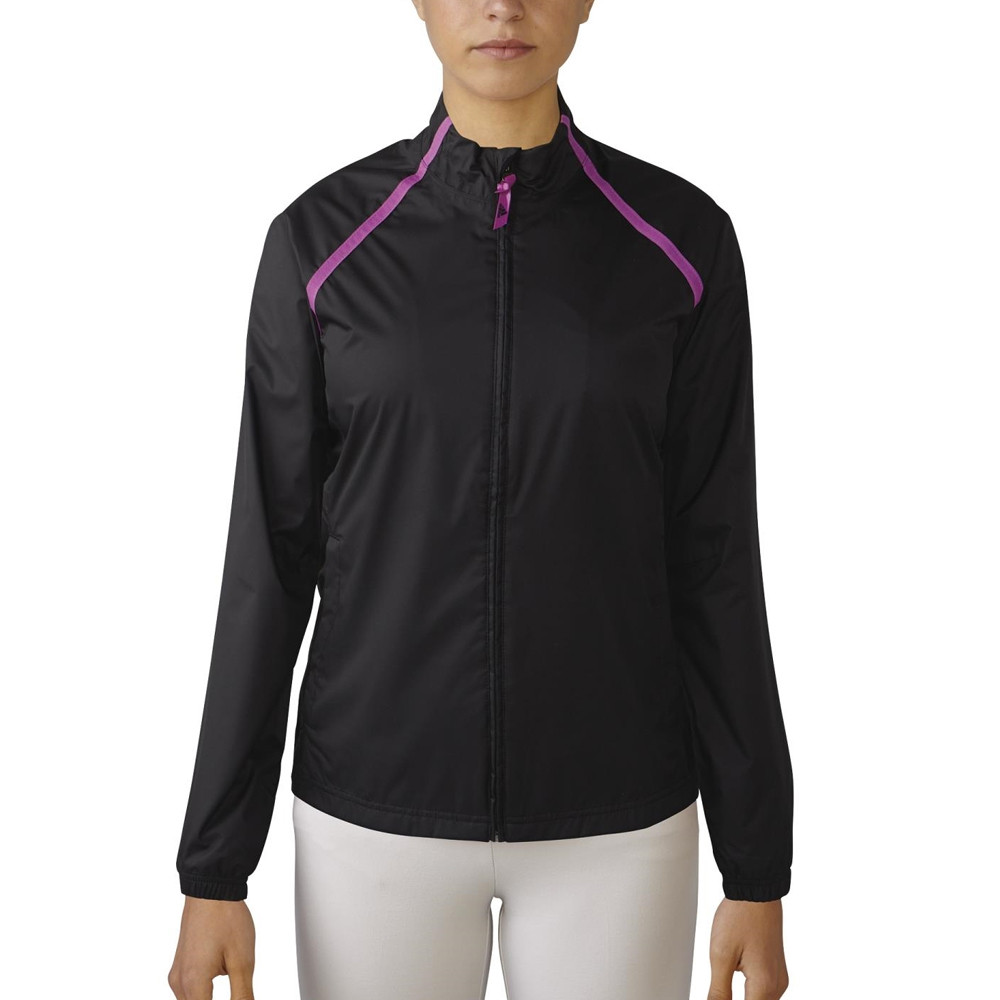 Women 39 s adidas climastorm provisional rain jacket for Adidas golf rain shirt