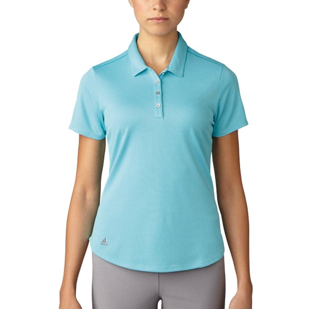 c201cc25176 Women's Adidas Microdot Polo - Discount Women's Golf Polos and Shirts -  Hurricane Golf
