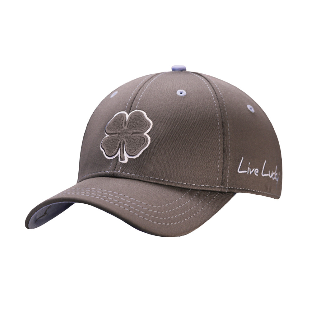 Black Clover Premium Clover Fitted Hat - Men s Golf Hats   Headwear -  Hurricane Golf 95b4c37c4e3