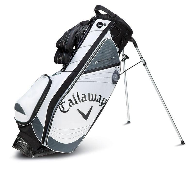 Callaway Hyper Lite 35 Stand Bag Whitecharcoal Discount Golf