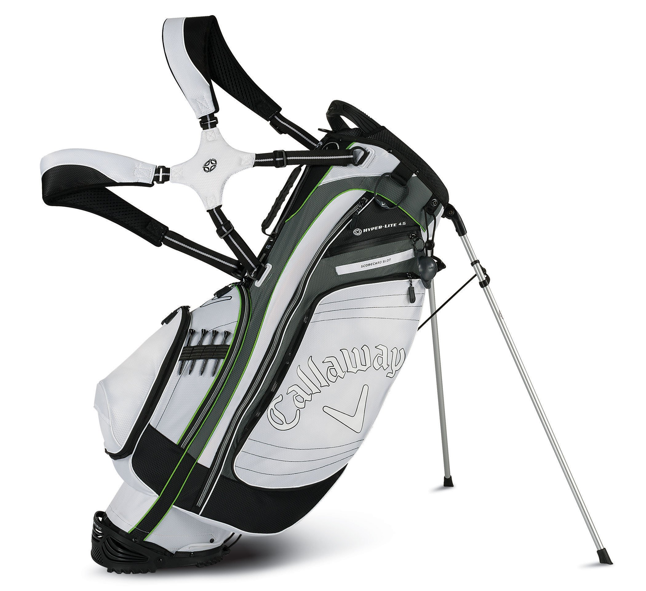 Callaway Hyper-Lite White Stand Bag