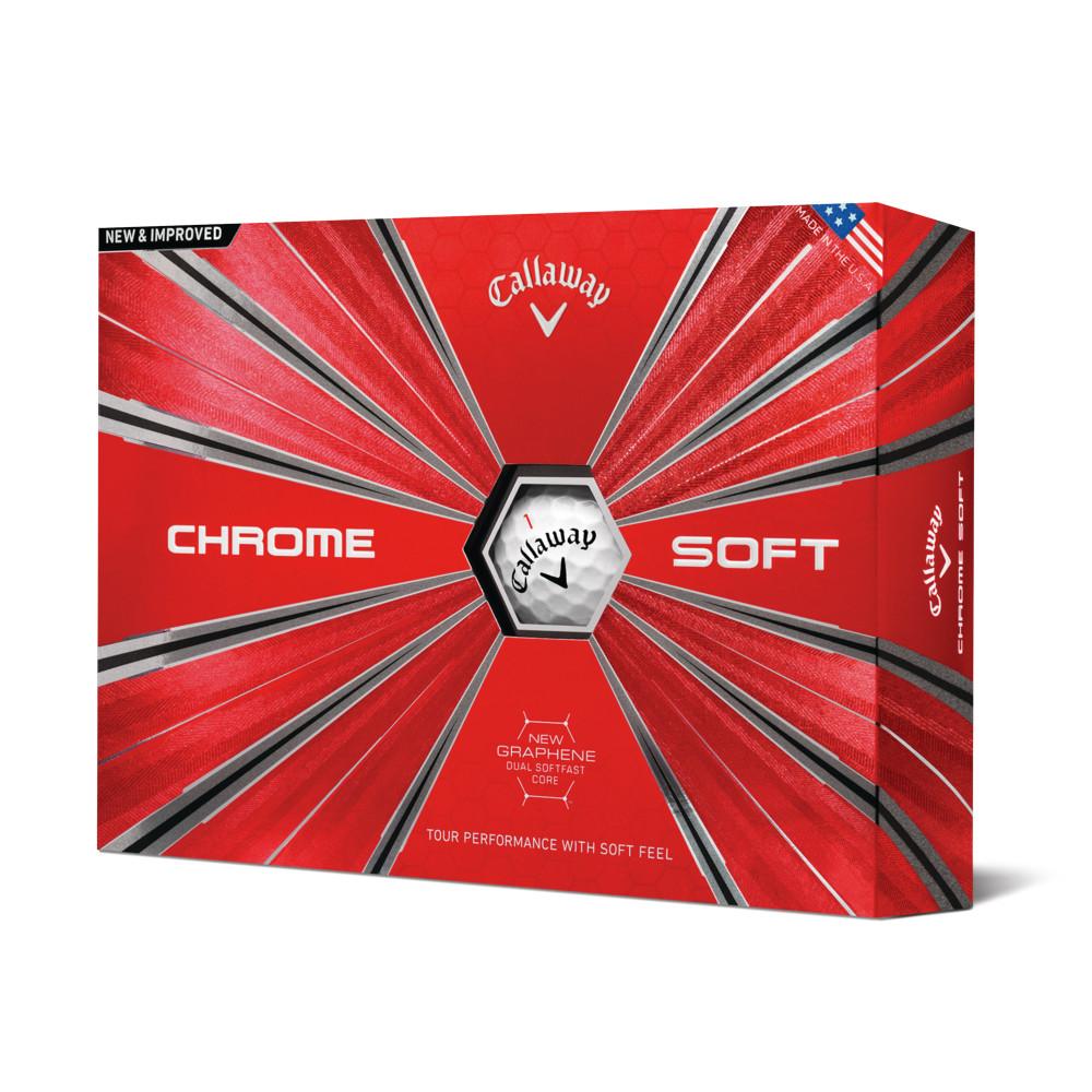 2018 Callaway Chrome Soft Golf Balls - Callaway Golf