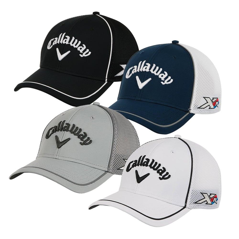 11106e33a7ad4 Callaway XR Tour Authentic Mesh Fitted Cap - Men s Golf Hats   Headwear - Hurricane  Golf
