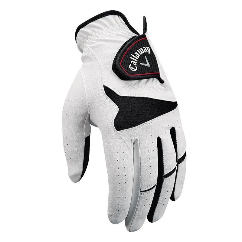 Callaway XXT Xtreme Golf Glove 2-Pack White/Black - Callaway Golf