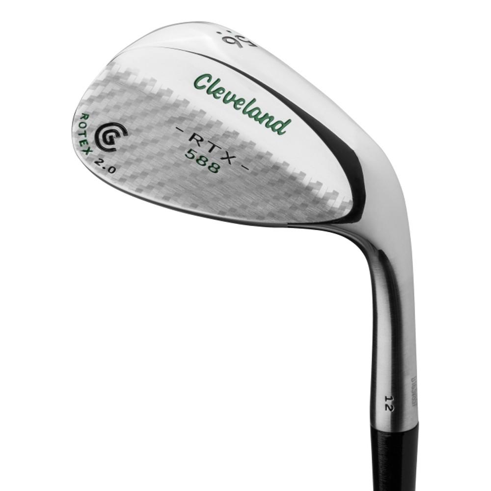 Cleveland 588 RTX 2.0 Custom Edition Tour Satin Carbon Fiber Green Wedge