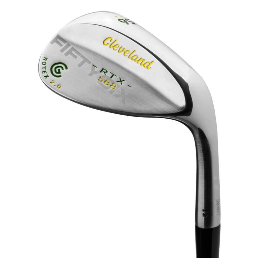 Cleveland 588 RTX 2.0 Custom Edition Tour Satin Cropped Loft Green/Yellow Wedge