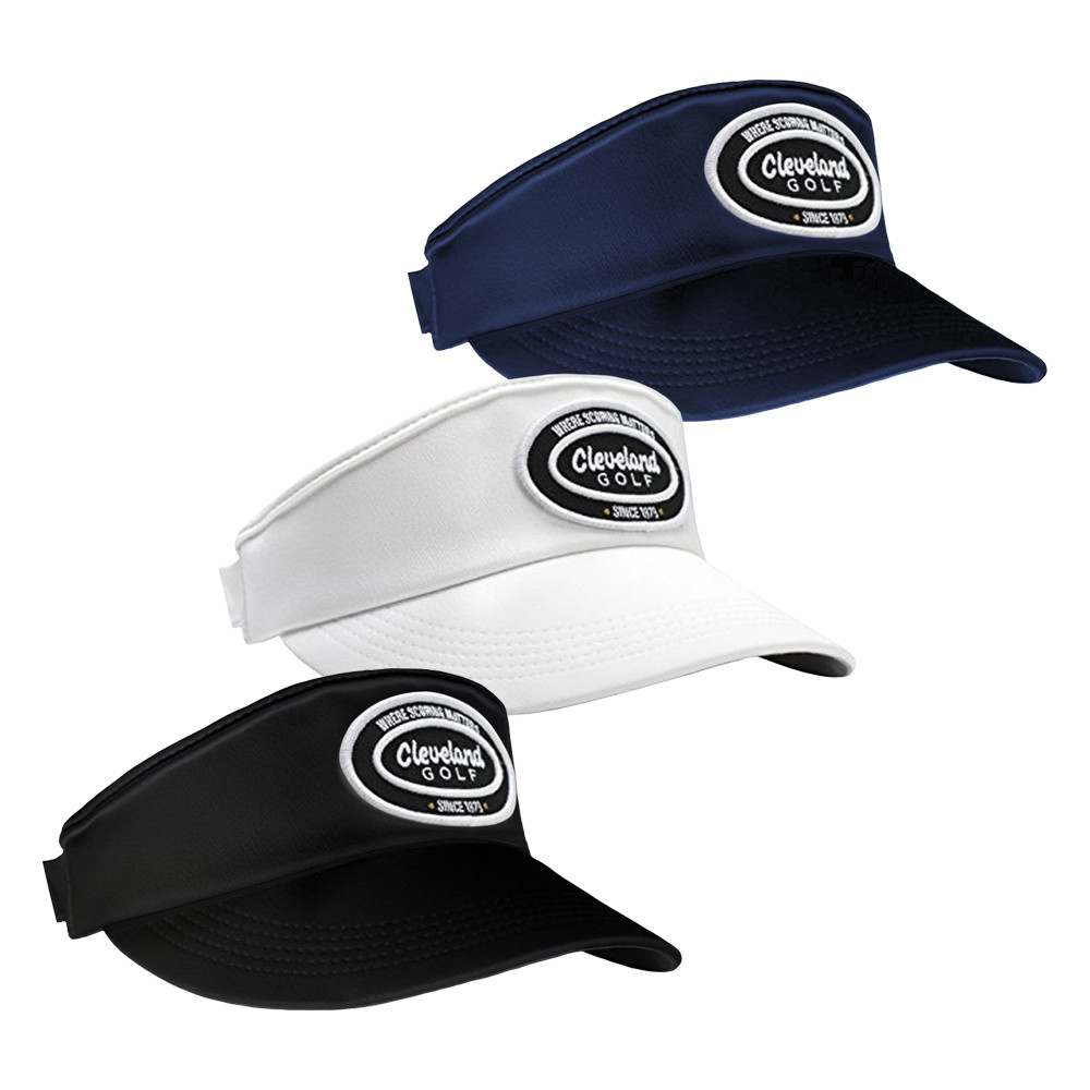 Cleveland Seven 9 Adjustable Visor - Cleveland Golf