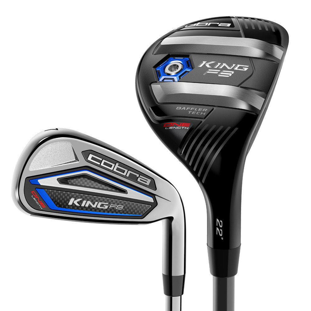Cobra King F8 One Length Combo Set - Cobra Golf