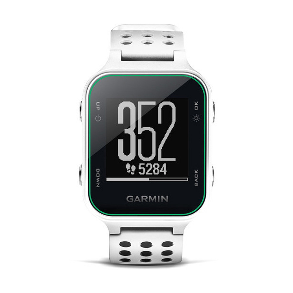 garmin approach s20 gps white golf gps and rangefinders hurricane golf. Black Bedroom Furniture Sets. Home Design Ideas