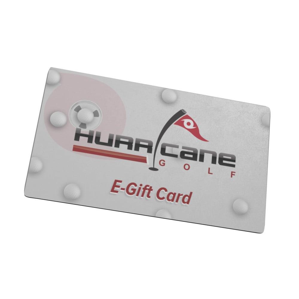 Hurricane Golf E-Gift Card